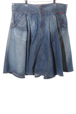 Levi's Spijkerrok blauw casual uitstraling