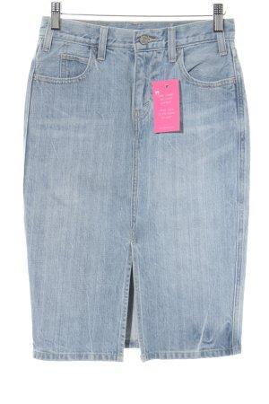 Levi's Jeansrock blassblau Street-Fashion-Look