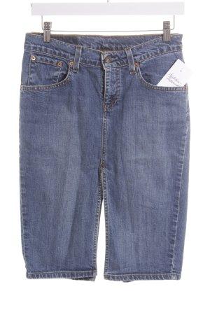 Levi's Jeansrock blau Street-Fashion-Look