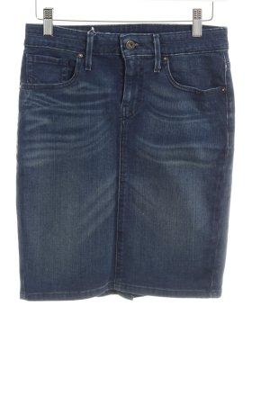 Levi's Spijkerrok donkerblauw Jeans-look