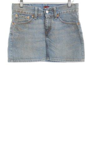 Levi's Jupe en jeans bleu azur style décontracté