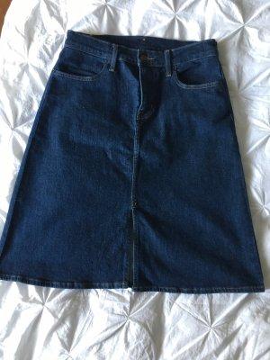 Levi's Denim Skirt steel blue
