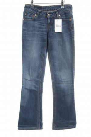 Levi's Denim Flares blue flecked casual look