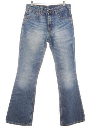 Levi's Jeansschlaghose blau schlichter Stil