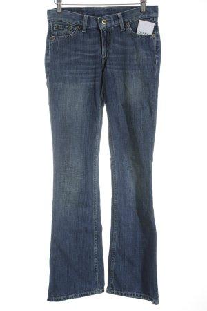 Levi's Jeansschlaghose blau Street-Fashion-Look