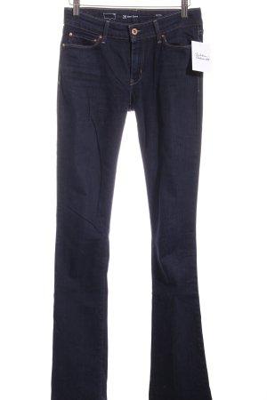 Levi's Jeansschlaghose dunkelblau Casual-Look