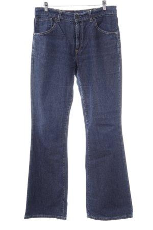 Levi's Jeans a zampa d'elefante blu scuro-grigio ardesia stile casual