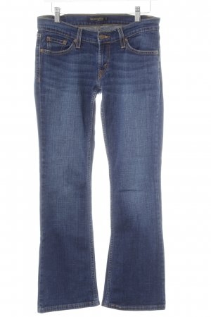 Levi's Jeansschlaghose dunkelblau-graublau Casual-Look