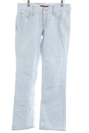 Levi's Jeans flare bleu azur moucheté style décontracté