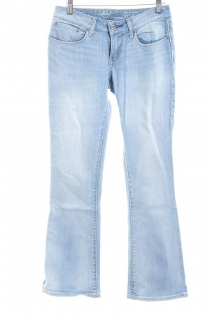 Levi's Jeansschlaghose himmelblau Washed-Optik
