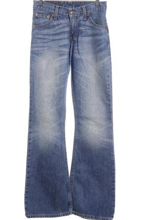 Levi's Jeansschlaghose kornblumenblau-blau extravaganter Stil