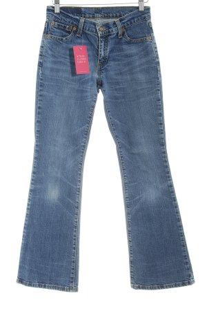 Levi's Jeans flare bleuet style décontracté