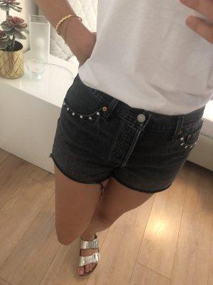 Levi's Denim Shorts grey-anthracite