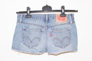 Levi's Shorts blu acciaio Cotone