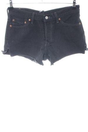 Levi's Jeansshorts schwarz Casual-Look