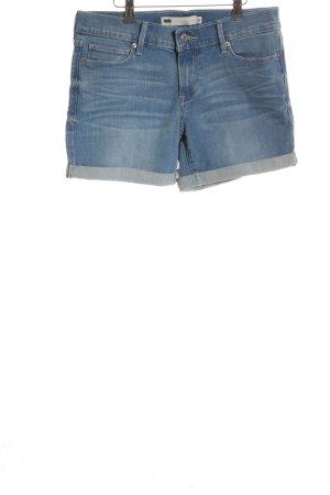 Levi's Pantalón corto de tela vaquera azul look casual