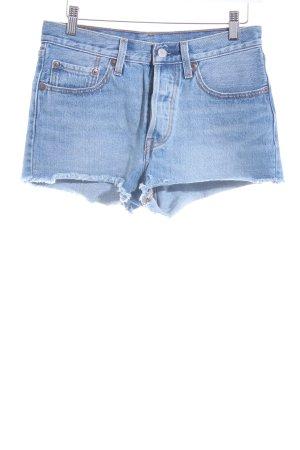 Levi's Jeansshorts blassblau Street-Fashion-Look