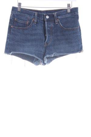 Levi's Jeansshorts blau Street-Fashion-Look