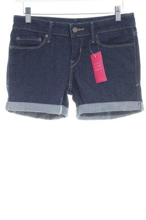 Levi's Denim Shorts dark blue casual look