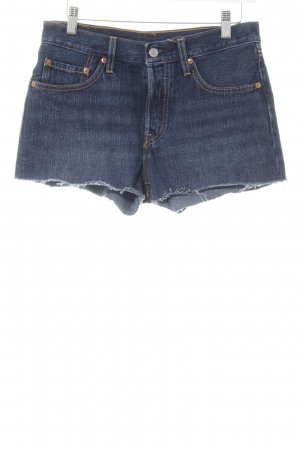 Levi's Jeansshorts dunkelblau Casual-Look