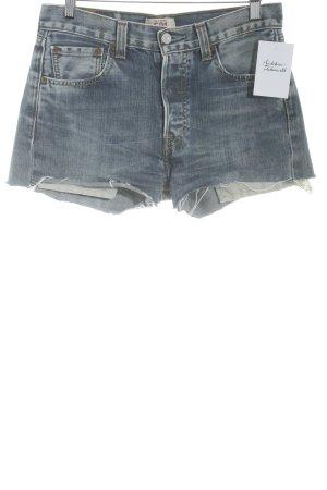 Levi's Jeansshorts dunkelblau Casual-Look