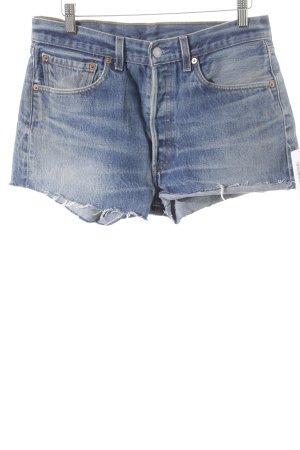 Levi's Jeansshorts graublau Street-Fashion-Look