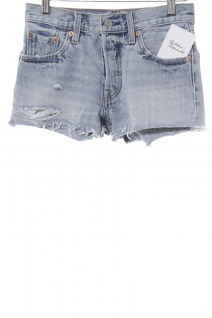 Levi's Jeansshorts himmelblau Casual-Look