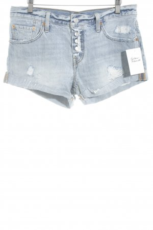 Levi's Jeansshorts himmelblau-stahlblau Casual-Look