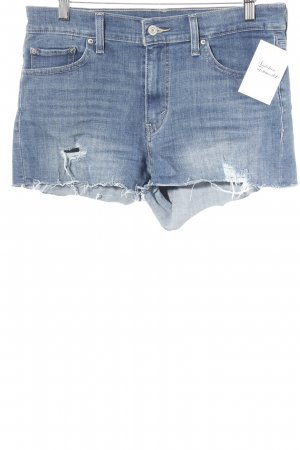 Levi's Jeansshorts stahlblau Casual-Look