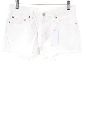 Levi's Jeansshorts weiß klassischer Stil
