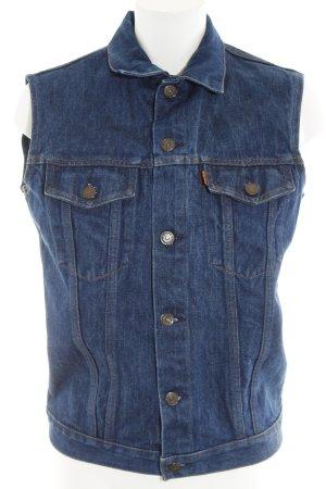 Levi's Gilet en jean bleu Aspect de jeans