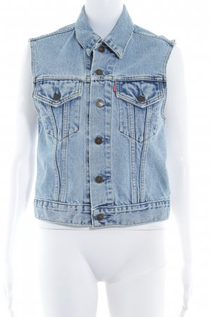 Levi's Jeansweste himmelblau Country-Look