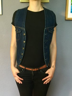 Levi's Denim Vest dark blue-blue