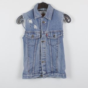 Levi's Denim Vest blue cotton