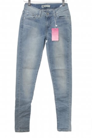 Levi's Jeggings himmelblau Casual-Look