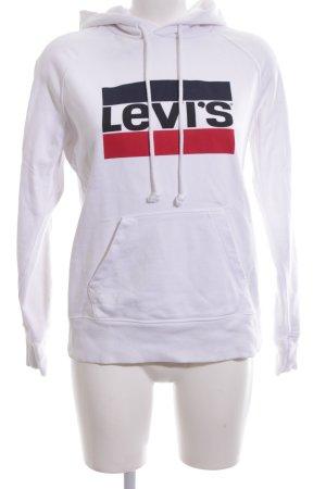 Levi's Kapuzensweatshirt Schriftzug gedruckt Casual-Look