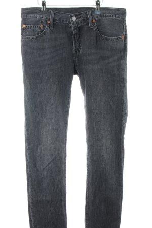 Levi's Jeans carotte gris clair style décontracté