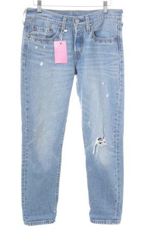 Levi's Karottenjeans blassblau Jeans-Optik