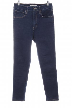 Levi's Carrot Jeans dark blue jeans look