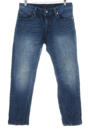 Levi's Jeans carotte bleu foncé style délavé