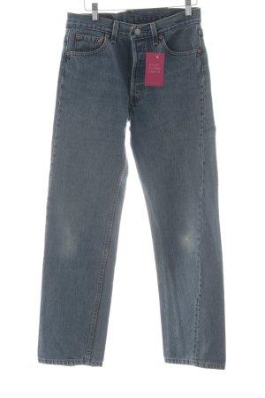 Levi's Jeans carotte bleuet produits rétro