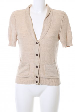Levi's Short Sleeve Knitted Jacket cream casual look