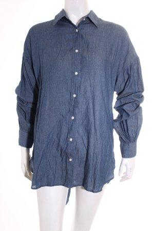 Levi's Langarm-Bluse blassblau Street-Fashion-Look
