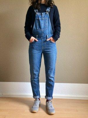 Levi's Salopette en jeans bleu