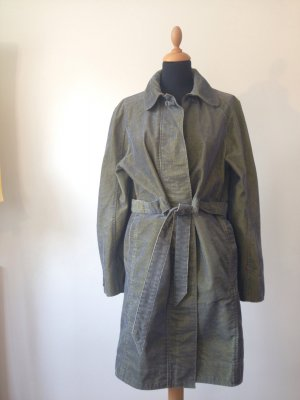 Levi's Levi Strauss Girls Cord changierend blau grün Trench Trenchcoat Blogger