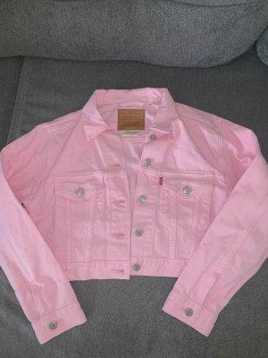 Levi's Spijkerjack roze Katoen