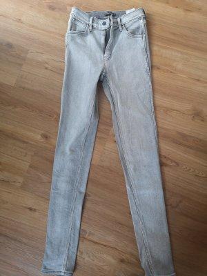 Levi's High Waist Jeans light grey