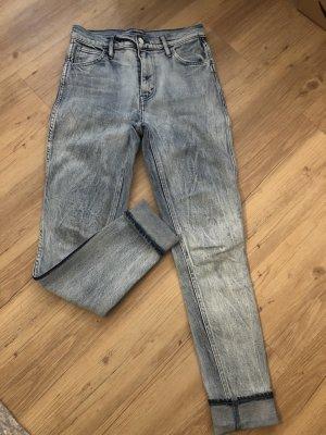 Levi's Slim jeans lichtblauw-blauw