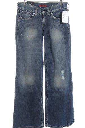 Levi's Jeans large bleu pâle style décontracté