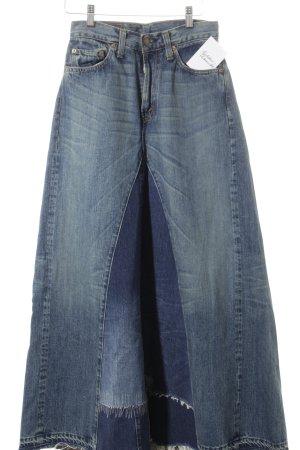 Levi's Maxirock blau-stahlblau Casual-Look